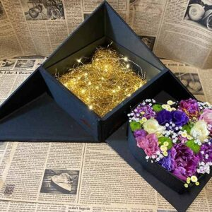 سوپرایز باکس گل چند وجهی