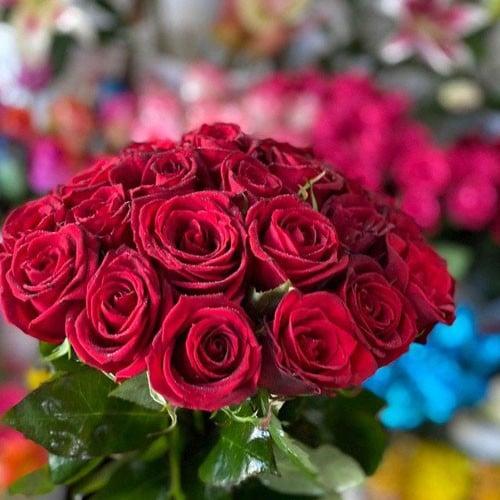 دسته گل رز -03