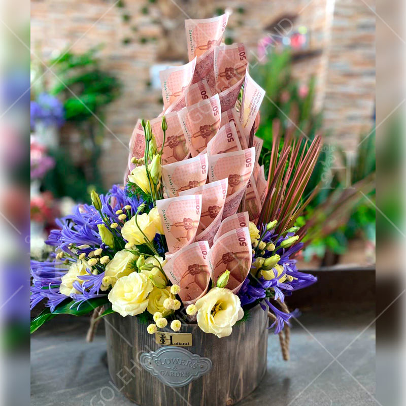 باکس-گل-اسکناس-مدل-چوبی-01