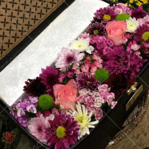 باکس-گل-صندوقچه-گلهای-بنفش-01