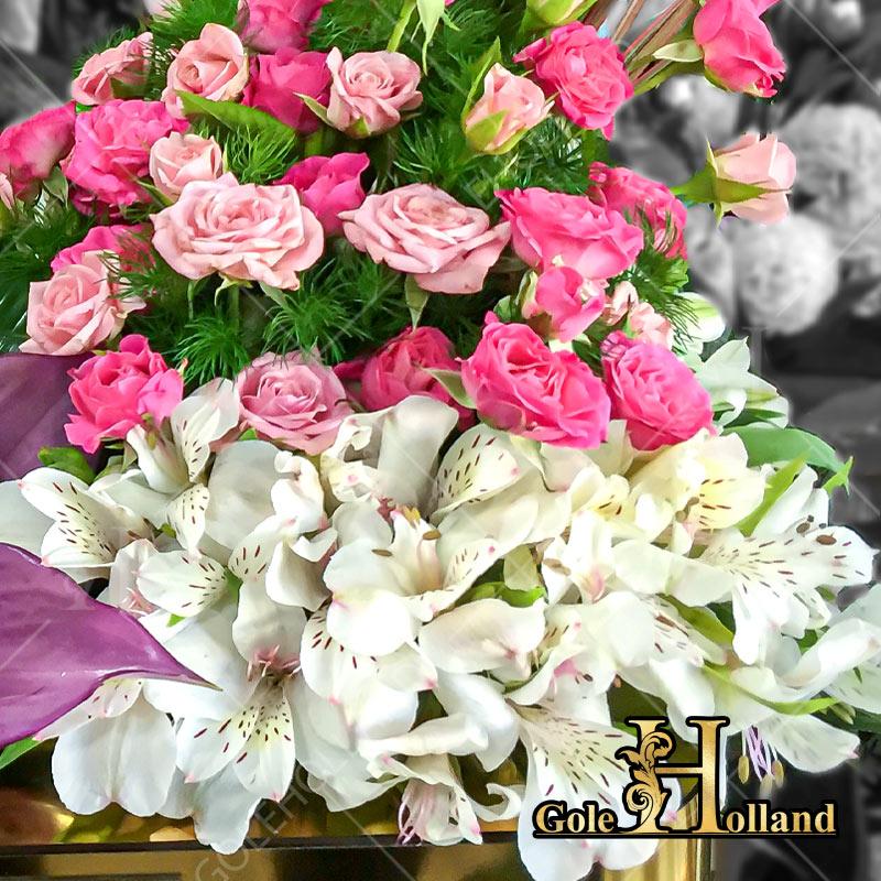 باکس گل مناسب خواستگاری